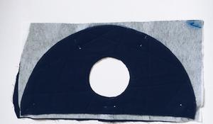 KROK VIII - Zszywanie panelu z wejściem